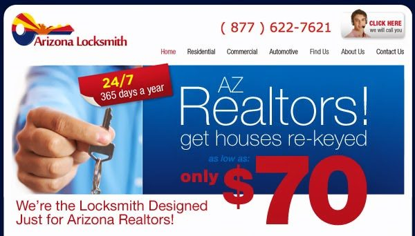, Realtors Save on our Locksmith Services in Phoenix!, Phoenix Locksmith - Emergency Locksmith Services